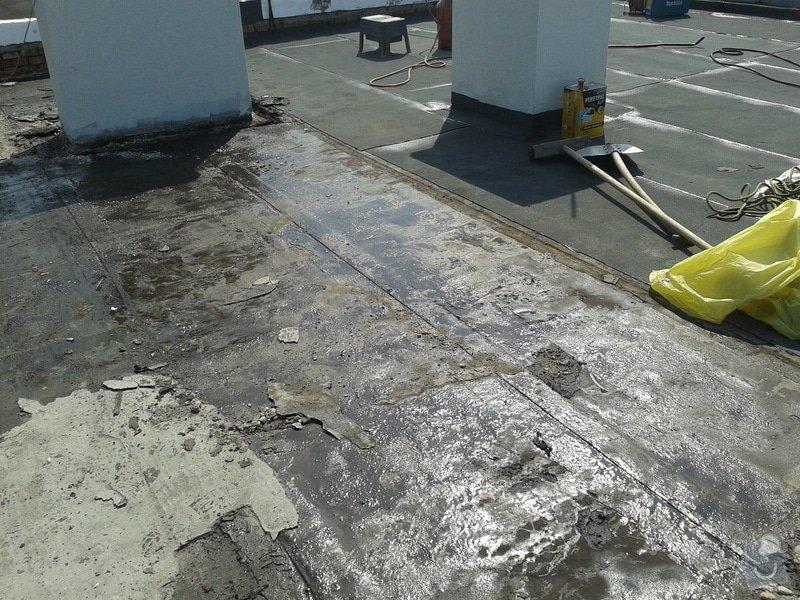 Rekonstrukce střechy: 20130608_100821