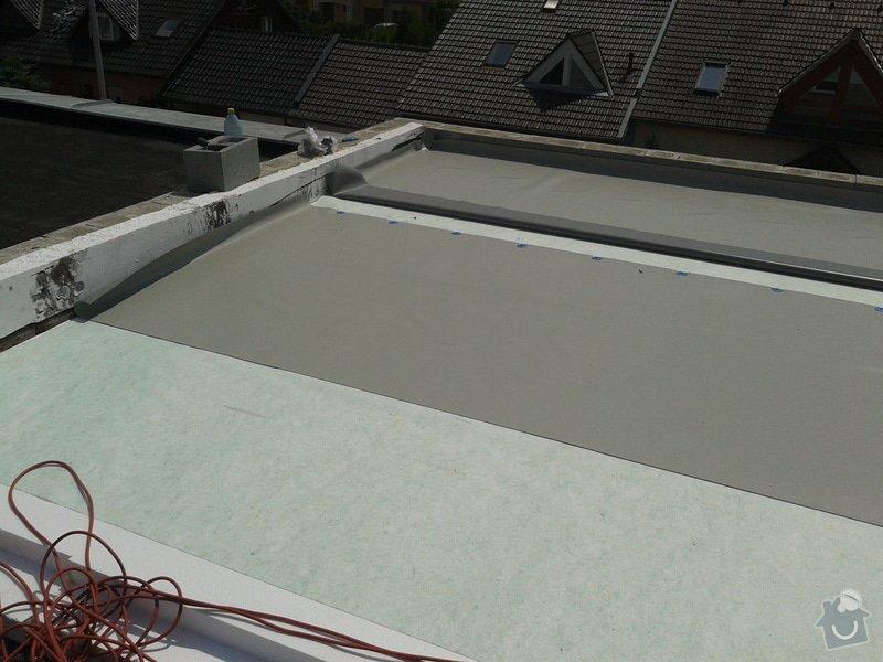 Rekonstrukce střechy: 20130608_124638