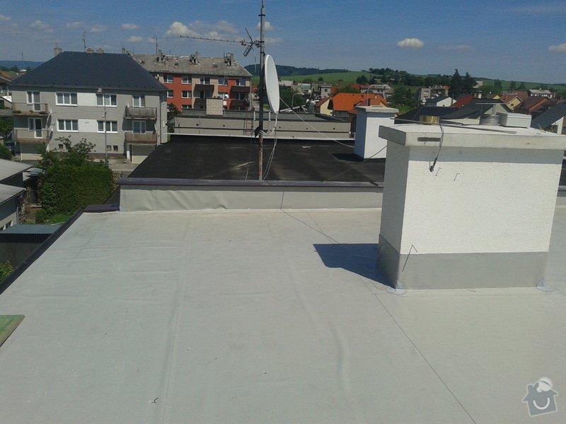 Rekonstrukce střechy: 20130613_143535