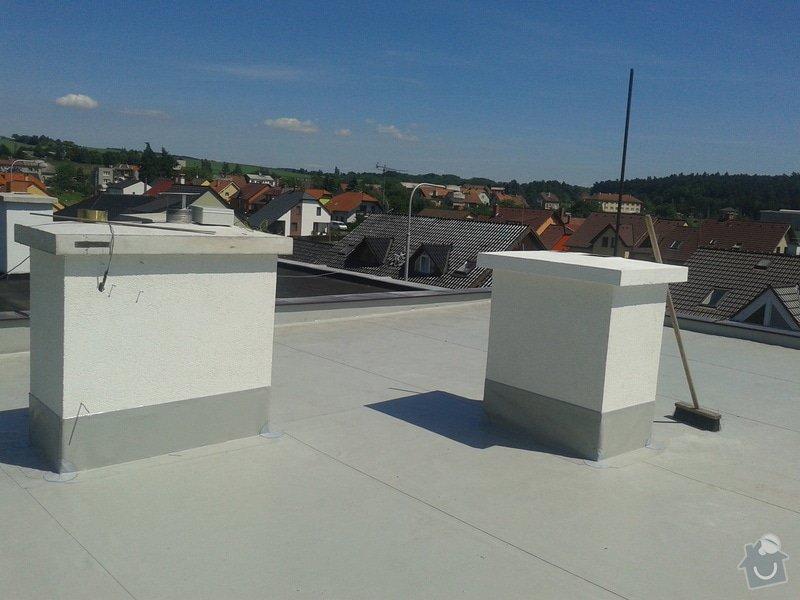Rekonstrukce střechy: 20130613_143540