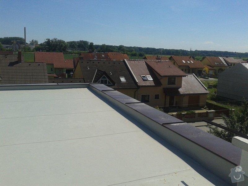 Rekonstrukce střechy: 20130613_143544