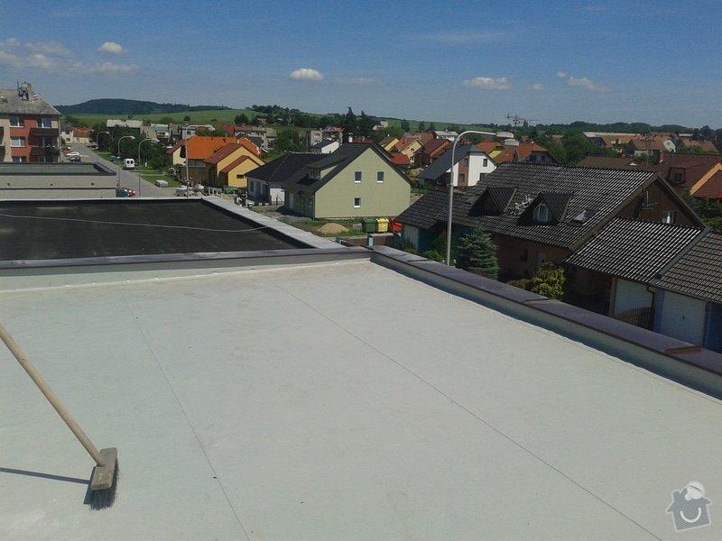 Rekonstrukce střechy: 20130613_143600