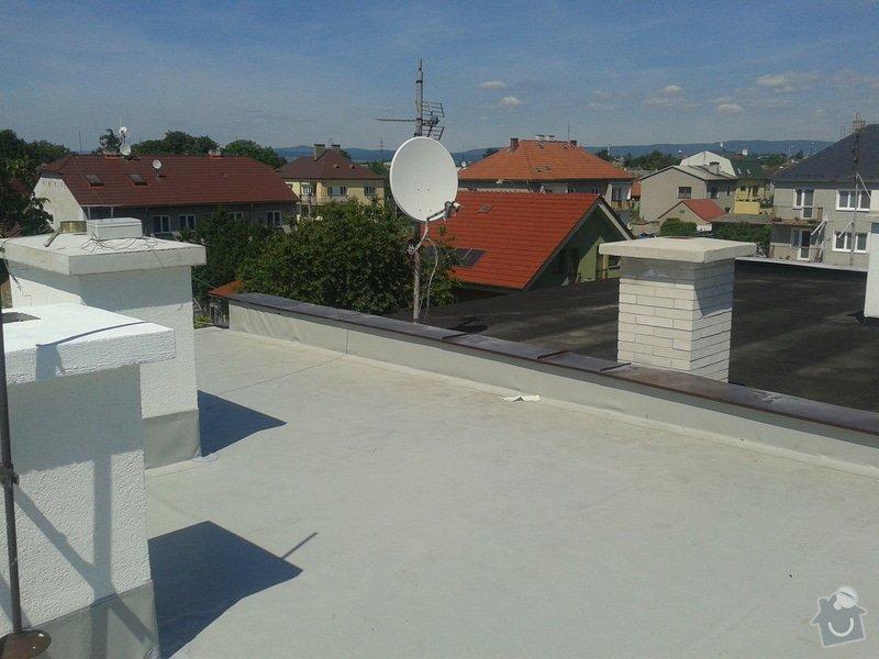 Rekonstrukce střechy: 20130613_143609