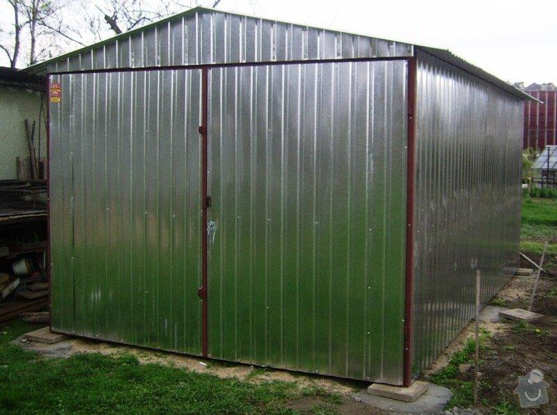 2 ks plechová garáž: SSA40450