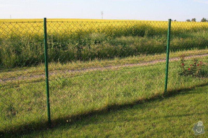 Dodani a montaz branky k pletivovemu plotu: plot