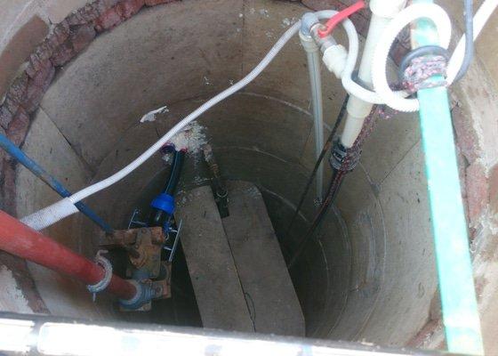 Čistění kopané studny