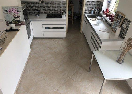 Příprava místa pro kuchyň