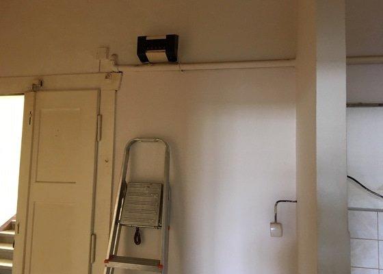 Demontáž plynových rozvodů v bytě 2 kk