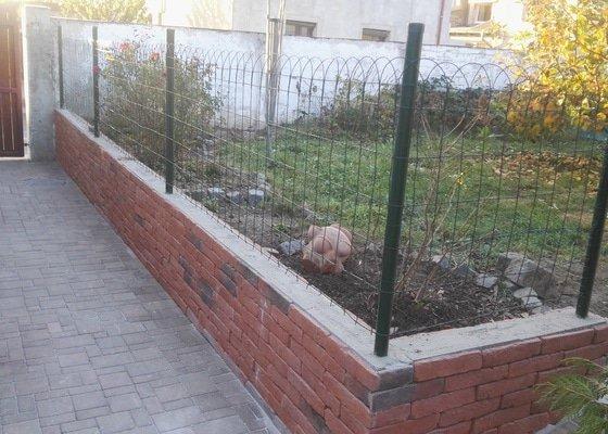Prodloužení zahradního chodníku
