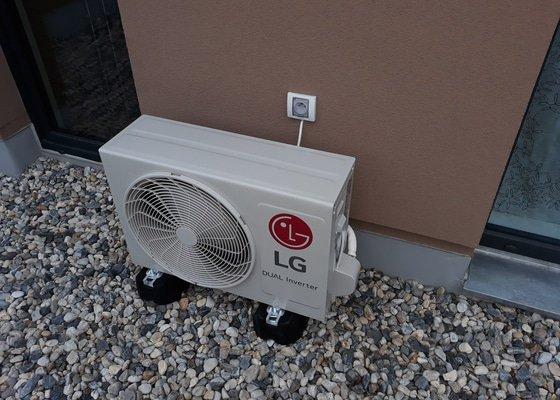 Instalace klimatizace do radoveho RD v Hornich Pocernicich