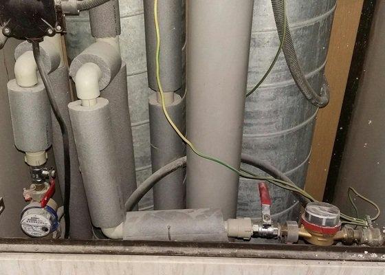 Odpojeni vody - příprava k celkové rekonstrukci