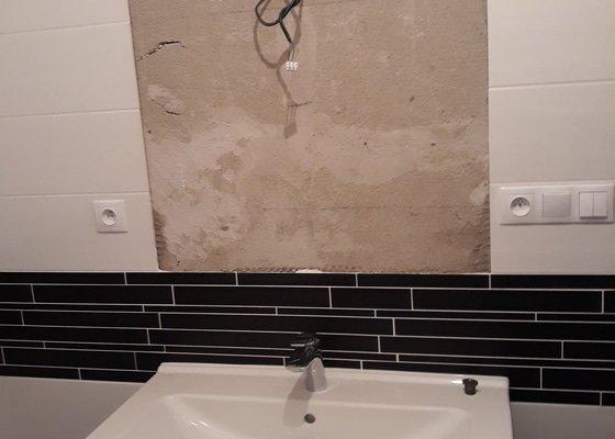 Instalace koupelnového nábytku a doplňků