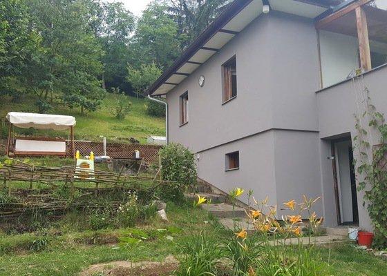 Výměna etrnitové střechy za novou - Chata cca 56m2