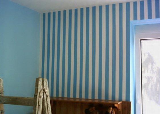 Malování bytu 1+kk, Praha - Letňany