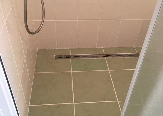 Oprava zděného sprchového koutu