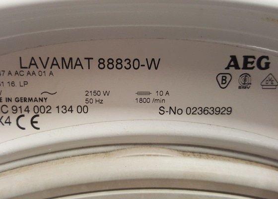 Oprava pračky - výměna těsnění