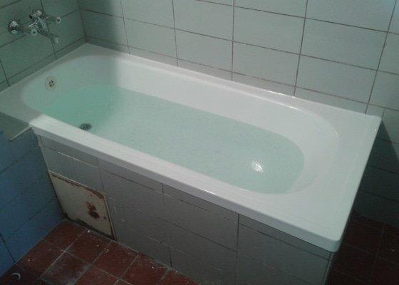 Renovace vany akrylátovou vložkou