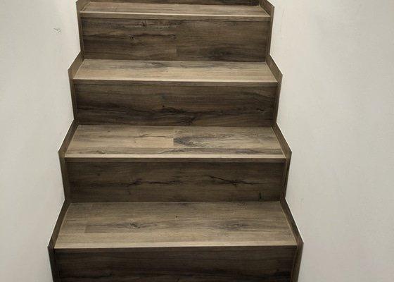 Obložení betonových schodů
