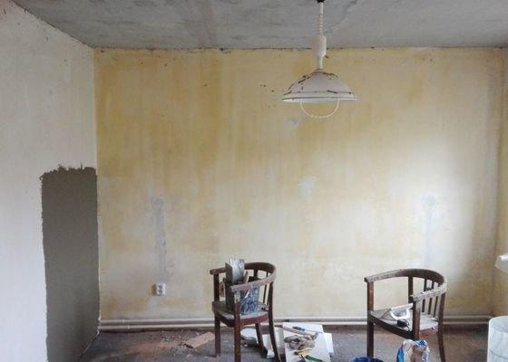 Rekonstrukce pokojů v domě