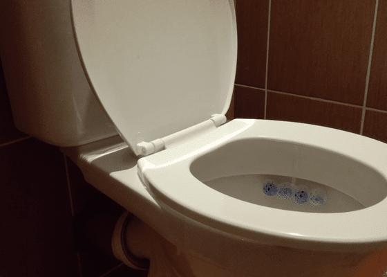 Hodinový manžel - oprava záchodu
