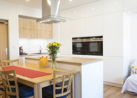 Původní prostor pro kuchyni už byste dnes nepoznali
