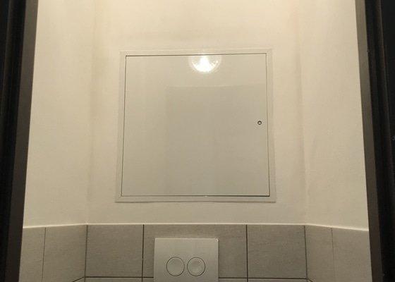 Rekonstrukce WC v bytě v září 2018