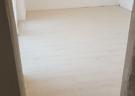 Pokládka laminátové podlahy  v novostavbě