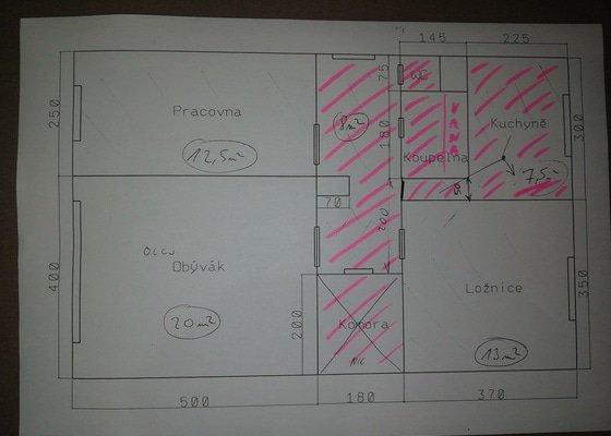 Pokládka dlažby v bytě - 22m, Plzeň
