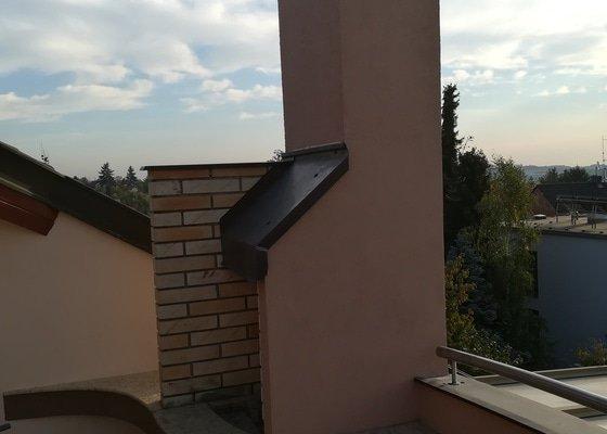 Rekonstrukce terasy ve 2 patře,kde nám zatýká