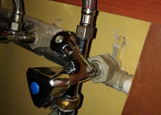 Výměna vodovodního ventilu