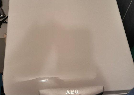 Oprava pračky AEG 47330 - chyba zámku
