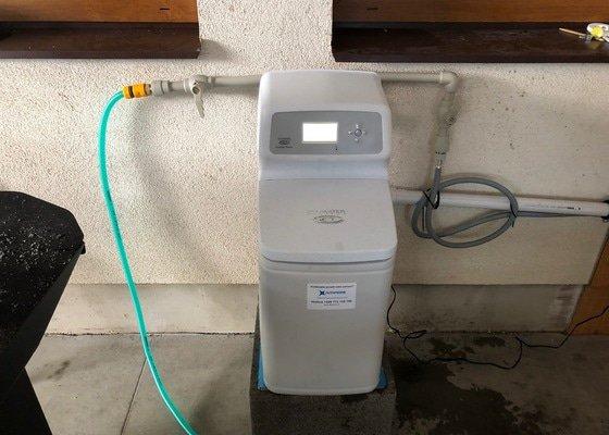 Instalace změkčovače vody ESM 11 CE+