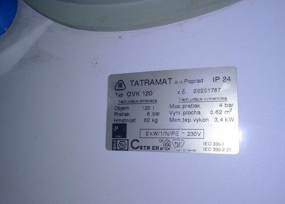 Výměna bojleru Tatramat 120l (kombinovaný)