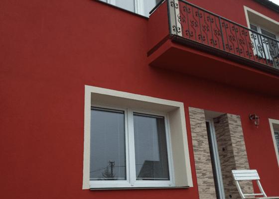 Realizace fasády, úspora zelené