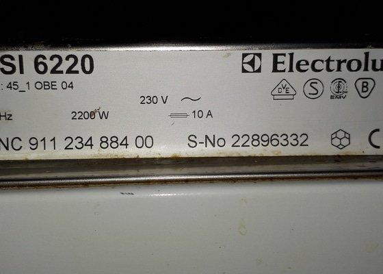 Oprava myčky Electrolux