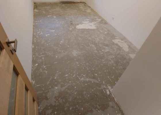 Příprava podkladu pro položení plovoucí podlahy