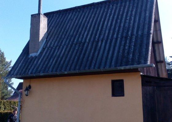 Výměna střechy -chata Lišov