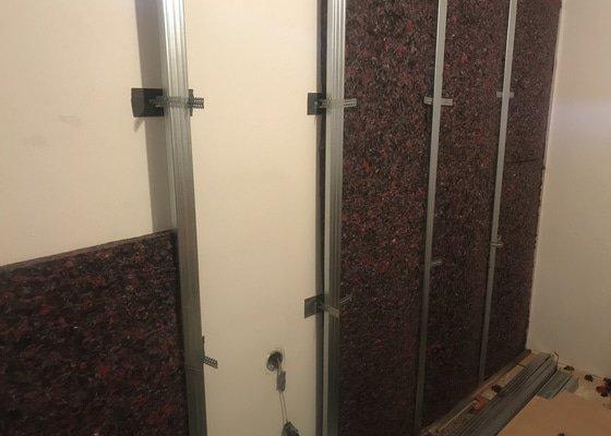 Odhlučnění stěny cca 30-35m2