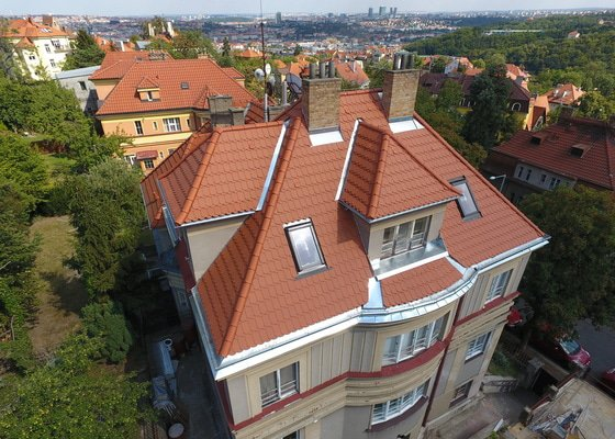 Rekonstrukce střechy Bobrovka