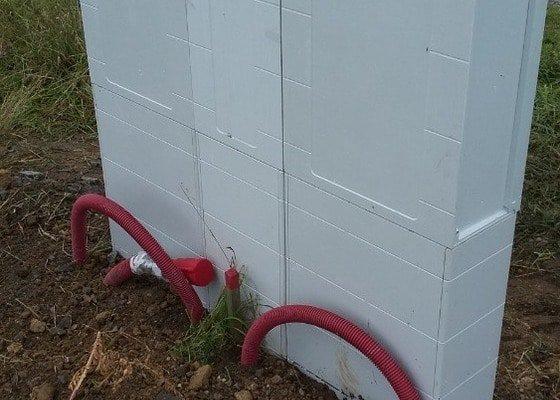 Instalace elektroměrové skříně