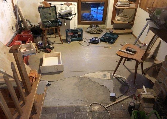 Vylít srovnat podlahu 3x3m