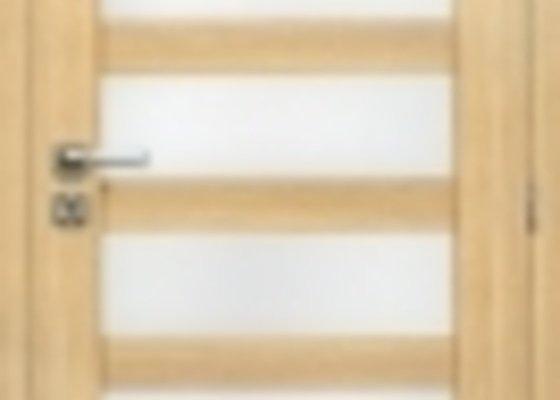 Interiérové dveře včetně obložek a kování - výroba + montáž