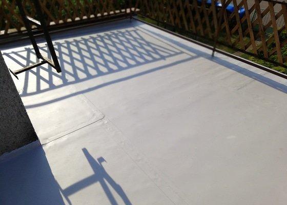 Pochozí hydroizolace terasy a balkonu