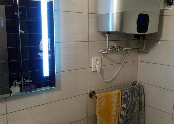 Rekonstrukce koupelny v cihlovém RD