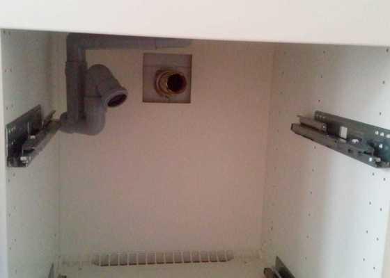 Připojení umyvadlového a dřezového sifonu