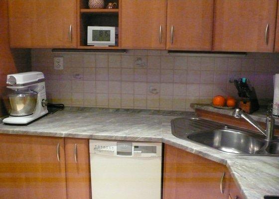 Výměna kuchyňské pracovní desky