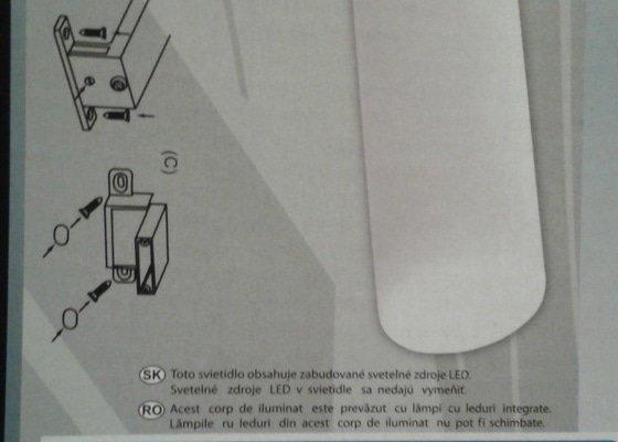Výměnu elektrického kabelu v panelovém bytě  - 3-4m