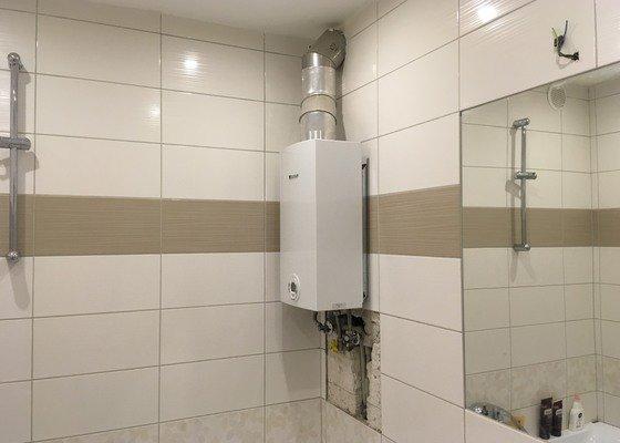 Výměna karmy za elektrický bojler v koupelně