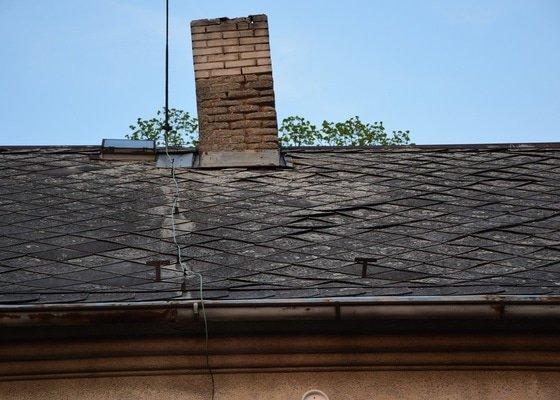 Rekonstrukce komínu na rodinném domě