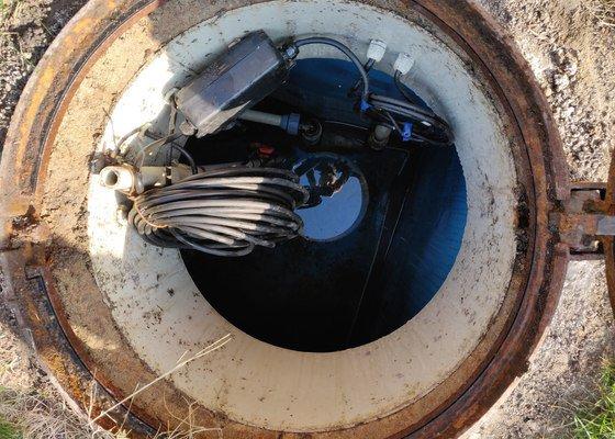 Zprovoznění studny